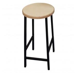 Барний стілець Хокер з круглим сидінням