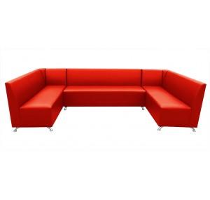 П-подібний диван Бар з кутами