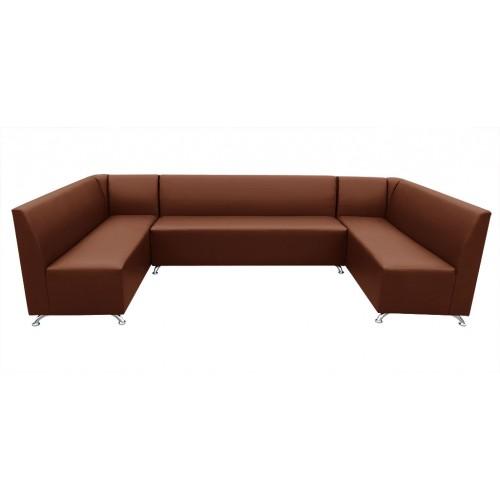 П-образный диван Бар с углами