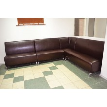 Угловой офисный диван