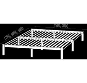 Кровать Дабл ламельное основание