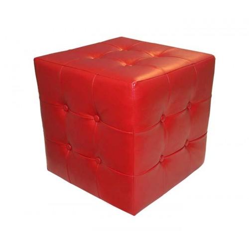 Пуф Куб c пуговицами
