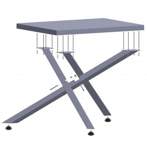 Опора (база) для стола Айрон металлическая