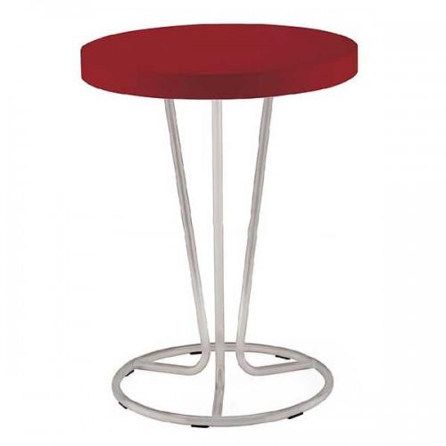 Стол PINACOLADA - круглая столешница